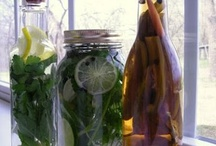 Vinegars / Recipes and beautiful photos of handcrafted vinegars.