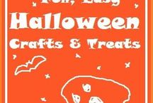 Halloween Fun / Halloween is a fantastic time of year for the kids to get crafty. Here are some of our favourite Halloween Crafts for big and small. Cute Halloween Ideas, as well as fun Halloween DIYs! Enjoy!