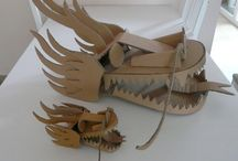 Dragon / Cardboard simplest head