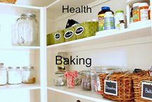 Kitchen and Pantry / Kitchen and pantry organization and decor