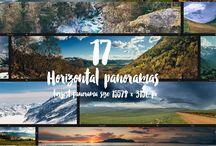 landscape headers