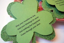 St Patty's Day / Kids crafts fun things   / by Jenny Myers