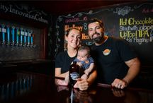 Babies and breweries / Brewers and their children at the brewery. / by Alan Shaw