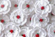 Fleur en crochet
