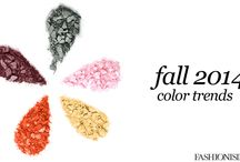 Fall 2014 Trends / Everything you need to know about Fall 2014 color trends
