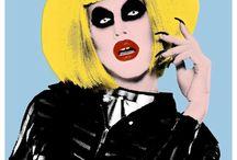 Draq Queens / Drag artists and art