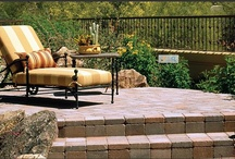 Concrete Patio Pavers / The concrete patio pavers installed by Belman Living, are a popular choice today because of their affordability, strength and durability. They are available in a wide variety of shapes, colors, designs and patterns, and attractive finishes and designed for all weather conditions.