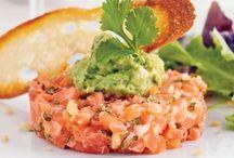 Cuisine et boissons / Tartare de saumon