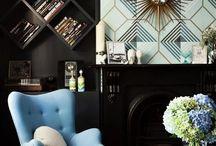 living room (modern art deco)