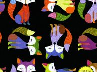Cool fabric / by Kirsty MoodyCatCrafts