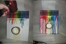 Melted Crayons Project