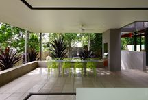 Outdoor Decks, Dining and Living