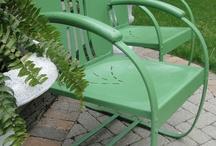 deeAuvil Garden Deck Chairs
