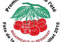 Fête de la Cerise 2015 / Fête de la Cerise, du 3 au 5 Juillet 2015, à Bessenay (Rhône)
