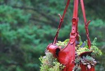 handbag planters