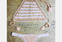 Bikinis de crochet
