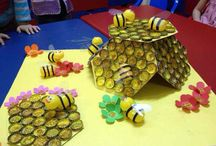 Bottle cap craft idea / This page has a lot of free and easy bottle cap craft idea for kids