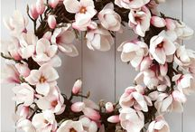 flowers / wreath / decoration / by jannie beekman