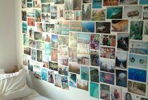 photo wall x