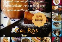 Cal Ros compleix 15 anys / Aquest any fa 15 anys que varem començar l'agrotuisme.  2000-2015