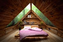 Small attic bedrooms