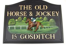 Royal Ascot Races / Great house signs for racegoers