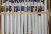Church Banner Storage Ideas