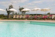 Summer at Borgo di Cortefreda / Spend a nice Day and Evening at Borgo di Cortefreda...  Quiet rooms and beautiful Sunset at the pool!