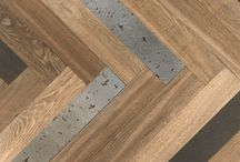 Incrustation / Incrustation de matières nobles au sein du parquet : marbre, laiton, cuir, terrazzo...
