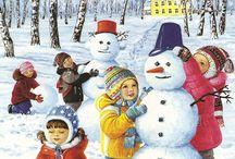obrázky - zima