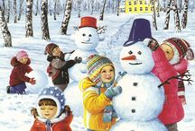 Zima děti