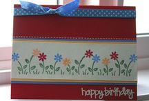 Cards - Stampin' Up Border Builders