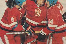 World Cup and Europe Ice Hockey 1983 in Germany Dortmund, Dusseldorf, Munich
