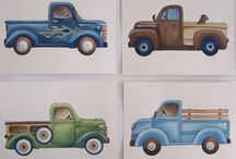 cars and trucks / by Bobbie Knight