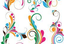 Victor colouring design