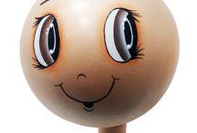 910 Игрушки - Лица куклы