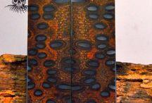 Banksia Pod Knife Scales / Custom Banksia Pod Knife scales
