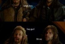 Hobbit / everything, specially about Kili ^_^