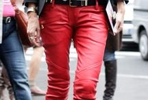 Red jeans / Clothes