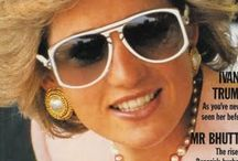 Royal Spectacles  / Royalty wearing #eyewear and #sunwear, Princess Grace, Lady Di..