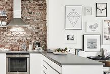 Exposed brick - interior design