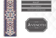 Patterns by Avenoth / #Peyote #Patterns #Beading #Bead #Stitch