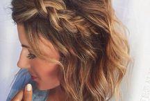 fryzury na krótkie włosy