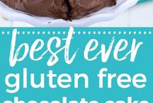 Gluten Free Chocolate Recipes / Everyone deserves some chocolate!!! Tons of Gluten Free Healthy Chocolate Recipes! Cookies, Cakes, Pies,Muffins, Brownies..you name it, it's here!