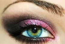 Makeup ideas/Brushed Designs