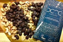 RAW chocolate covered cashews