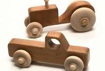 Trælegetøj - Biler