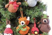enfeites árvore natal