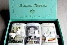 "Maison Bouche ""Marriage a la Mode"" Chocolates / Ever since the Spanish conquistadors touted the cacao tree's spicy seeds from the New World as an aphrodisiac has romance been wedded to chocolate.  Invite this lauded guest to your wedding, where it will have pride of place as a favor or bridesmaid/groom gift."