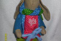 куклы - зайцы